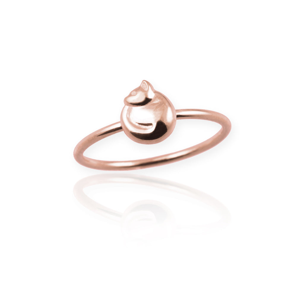 Tiny Cat Ring - Jana Reinhardt Ltd - 3