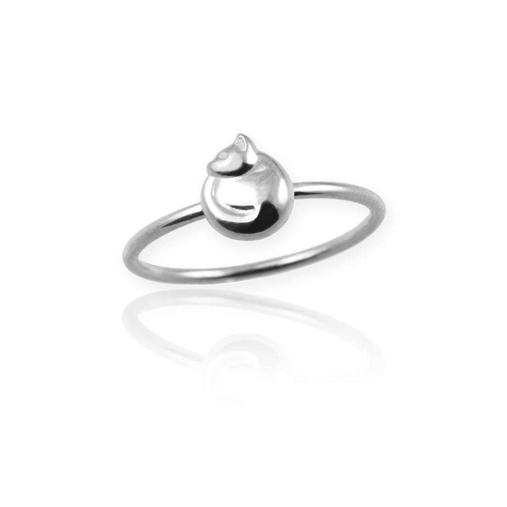 Tiny Cat Ring - Jana Reinhardt Ltd - 1
