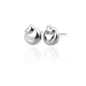 Cat Stud Earrings - Jana Reinhardt Ltd - 1