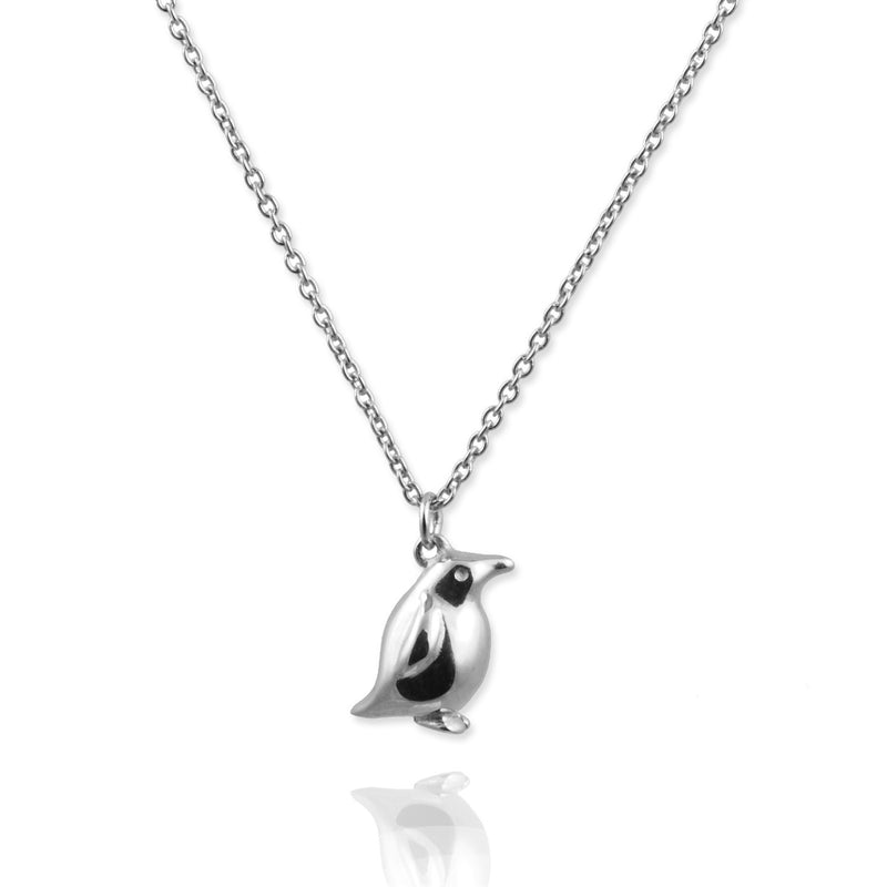 Tiny Penguin Necklace - Jana Reinhardt Ltd - 1