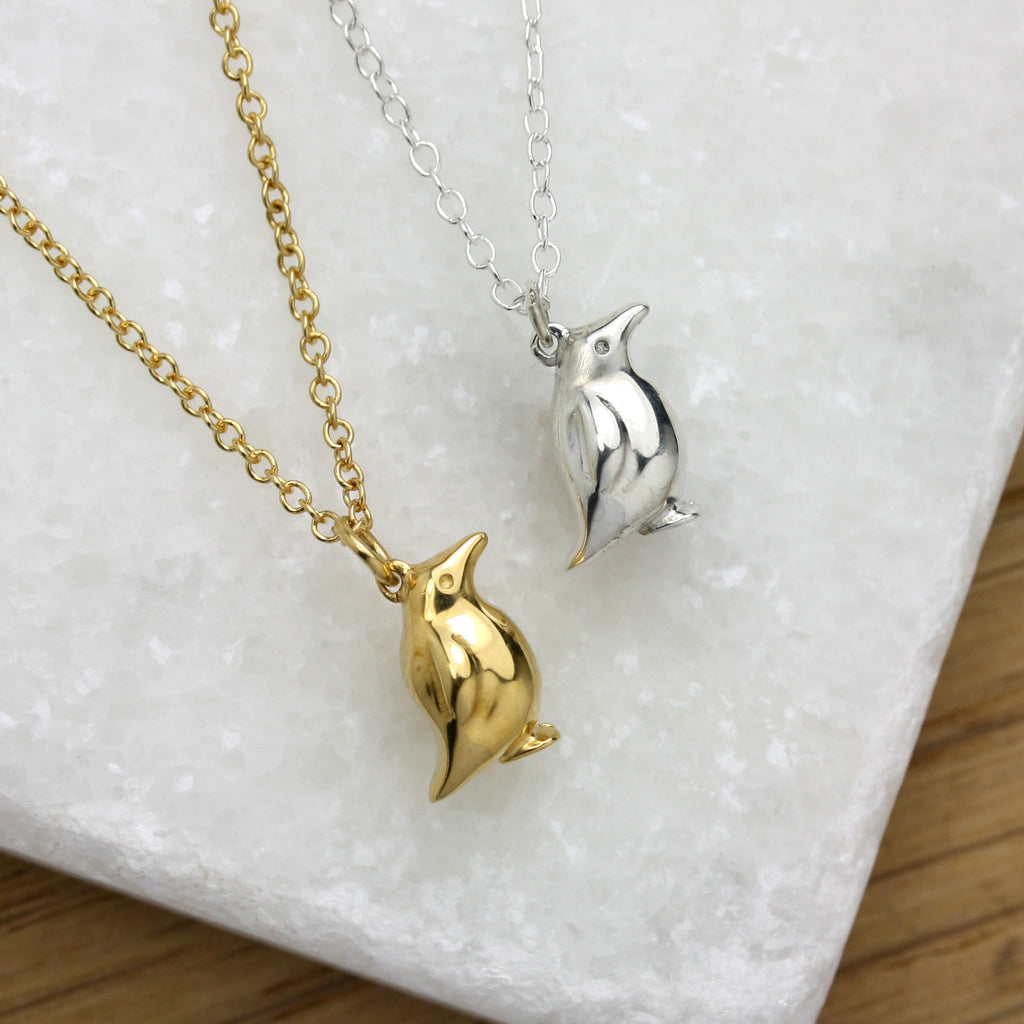Tiny Penguin Necklace - Jana Reinhardt Ltd - 5