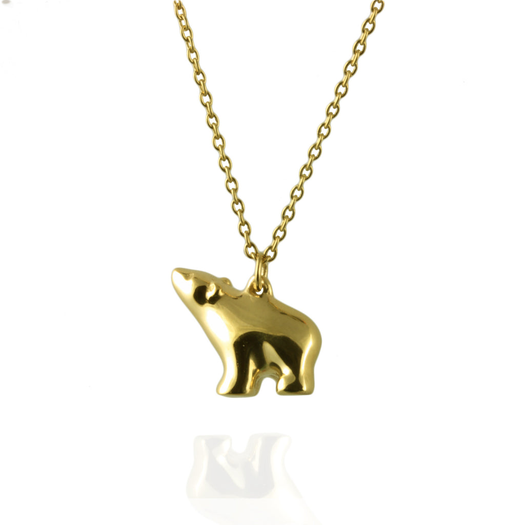 Tiny Polar Bear Necklace - Jana Reinhardt Ltd - 5