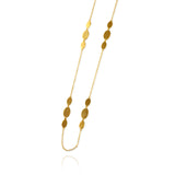 Triple Ellipse Necklace - Jana Reinhardt Ltd - 6