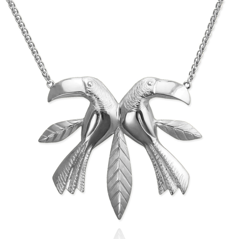 Toucan Twin Necklace