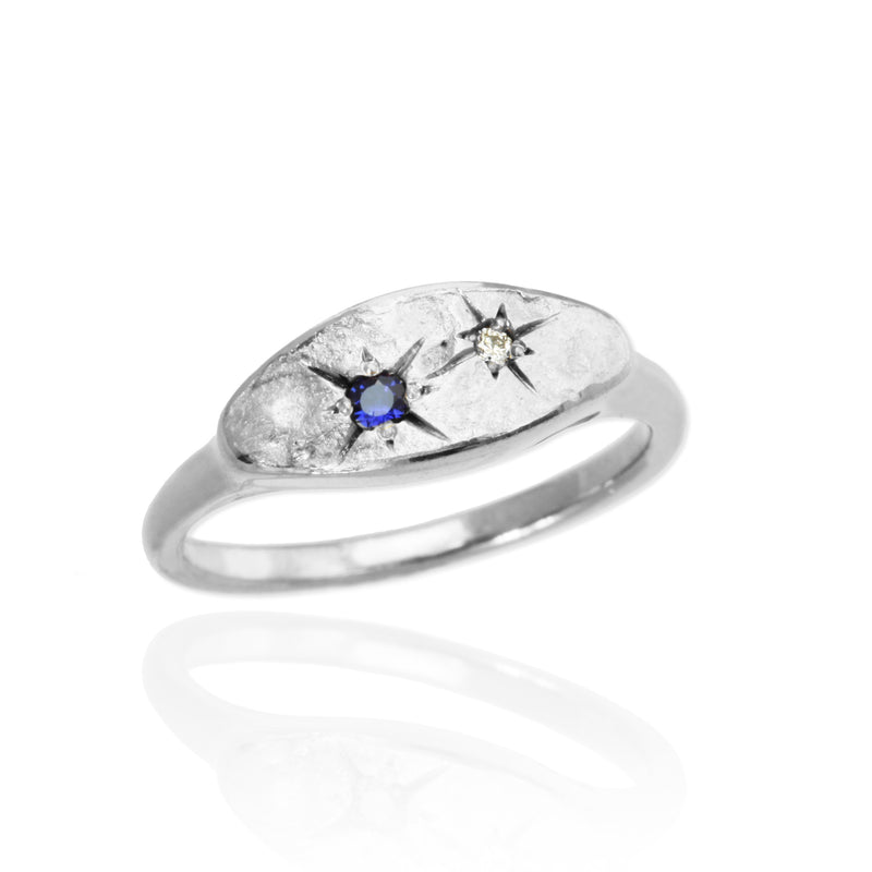 My Universe Birthstone Couples Ring