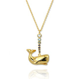 Whale Pendant Necklace - Jana Reinhardt Ltd - 3
