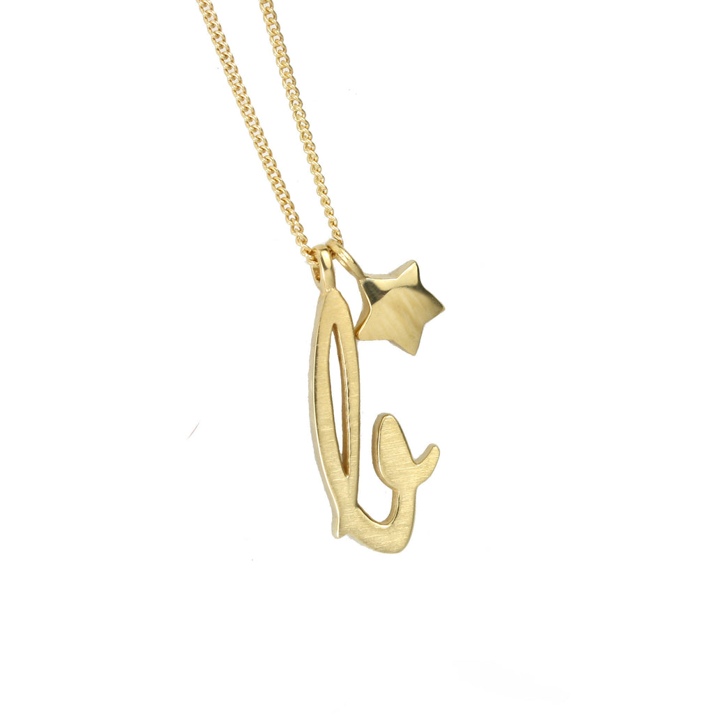 Letter Charm Necklace - Jana Reinhardt Ltd - 2