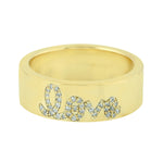0.15ct Natural Diamond Band Ring 14k Yellow Gold Diamond Jewelry