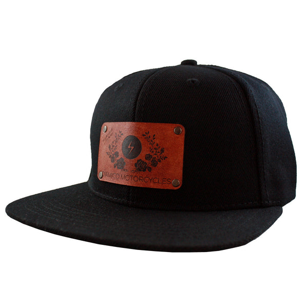 PATCHED RIDING CAP - SUNS N' ROSES