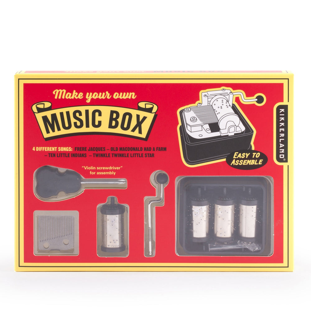 Build Your Own Music Box