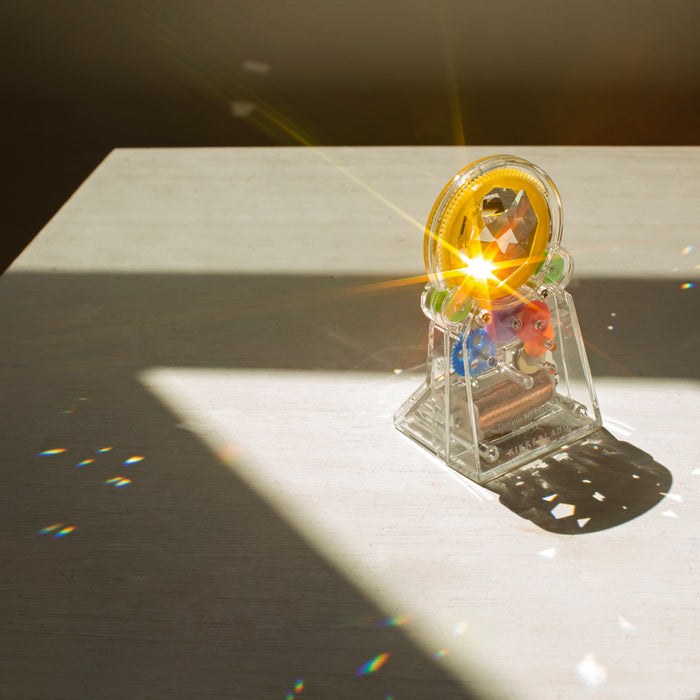 Solar Power Standing RainbowMaker + Swarovski Crystal