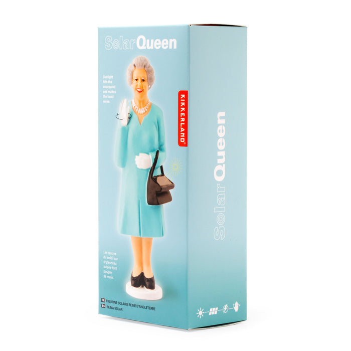 Solar Queen - Dress colors include light blue and pink
