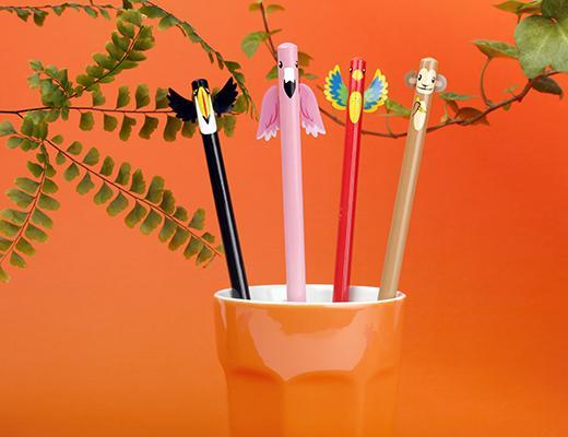 Tropical Pencils S/4