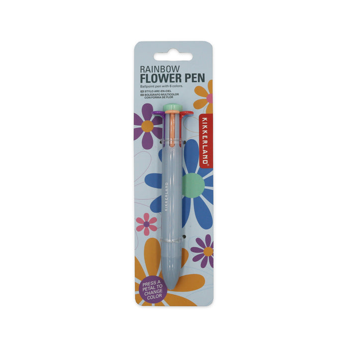 Rainbow Flower Pen