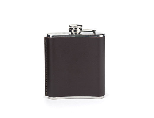 Leather Hip Flask 7OZ