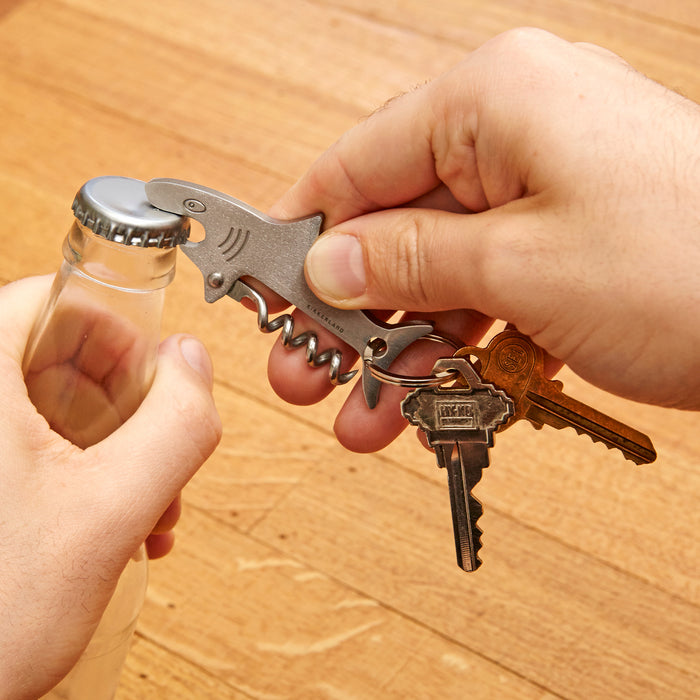Kikkerland Shark Key Ring