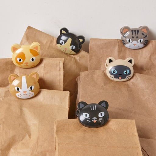 CAT BAG CLIPS S/6