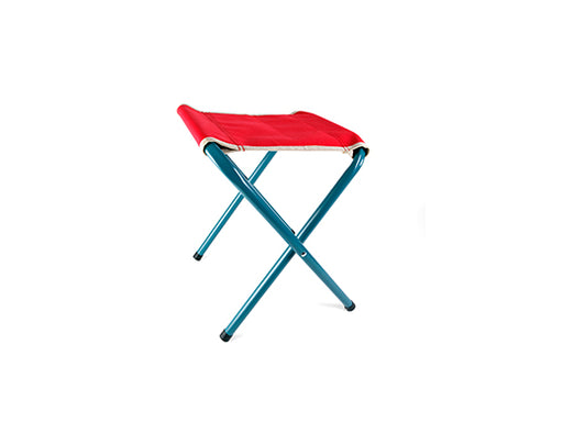 Red Retro Folding Stool