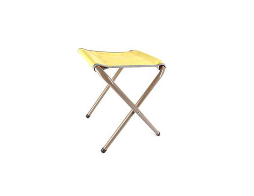 Yellow Retro Folding Stool