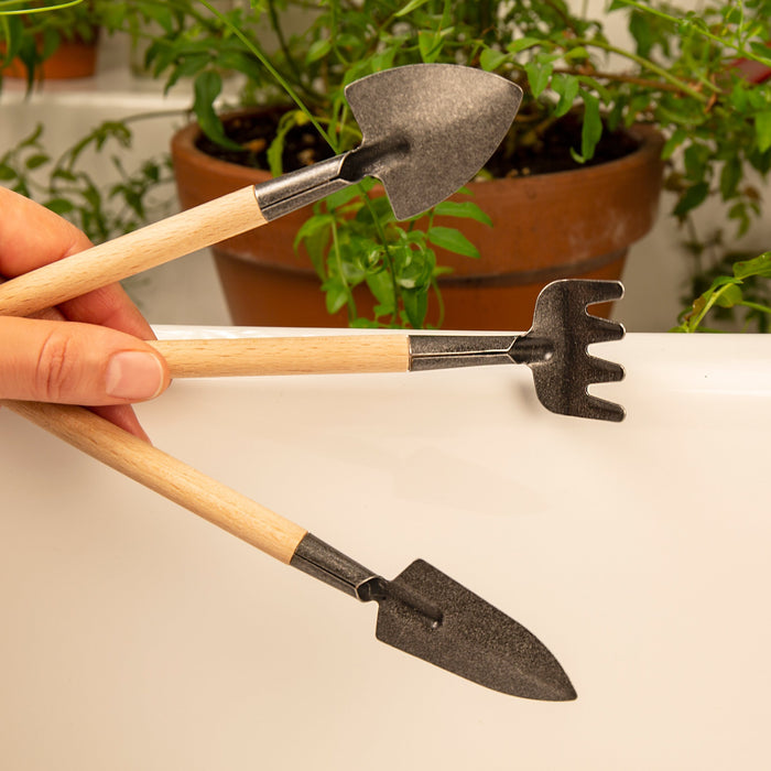 Mini Garden Tool Set - For Indoor And Small Plant Gardening