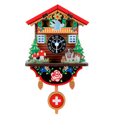 DIY Swiss House Clock