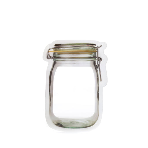 Zip Mason Jar Small Bag