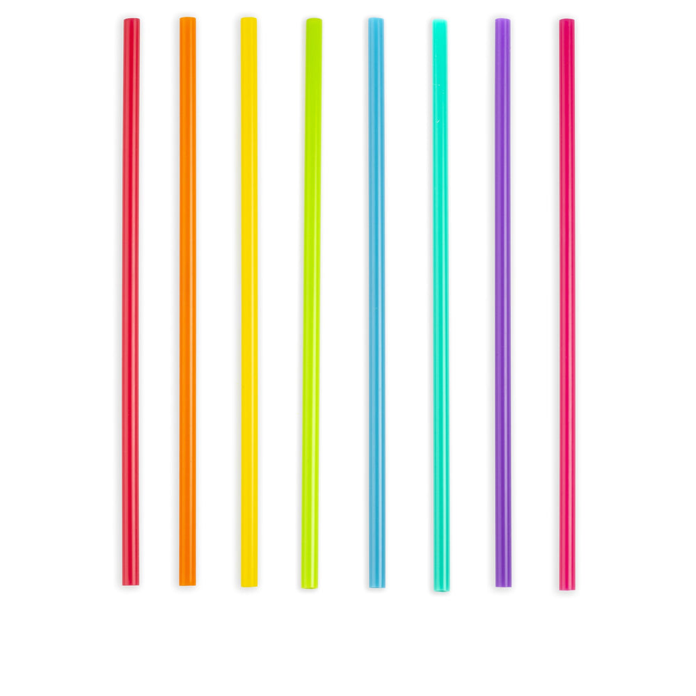 11 Inch Bright Color Reusable Straw