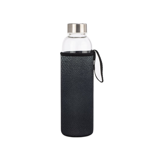 Black Snake Glass Bottle + Sleeve