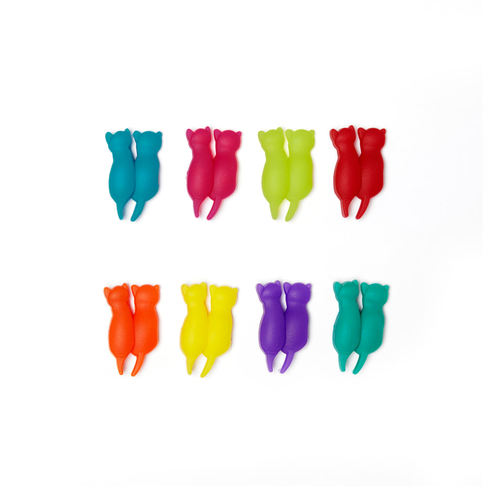 RAINBOW CAT DRINK MARKERS S/8