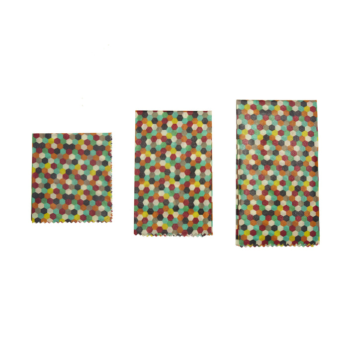 Reusable Beewax Wraps Multicolor