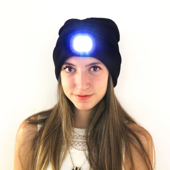 Hat With LED Light