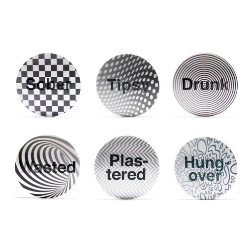 Drunk? 3D-Coasters