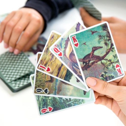 3-D Dinosaur Playing Cards