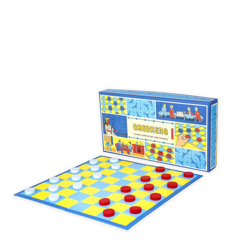 Checkers - Two-Player Strategy Game