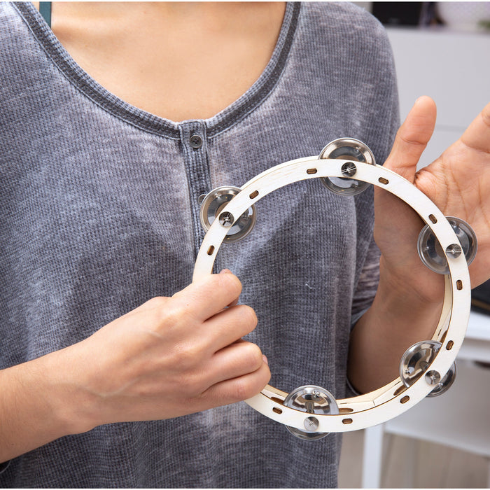 Make Your Own Tambourine - Do It Yourself Kit