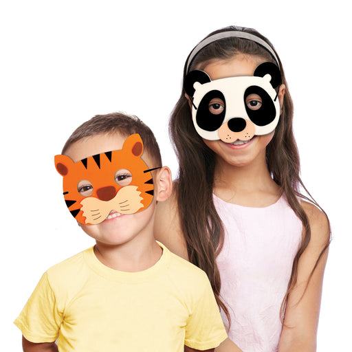 Jungle Party Masks