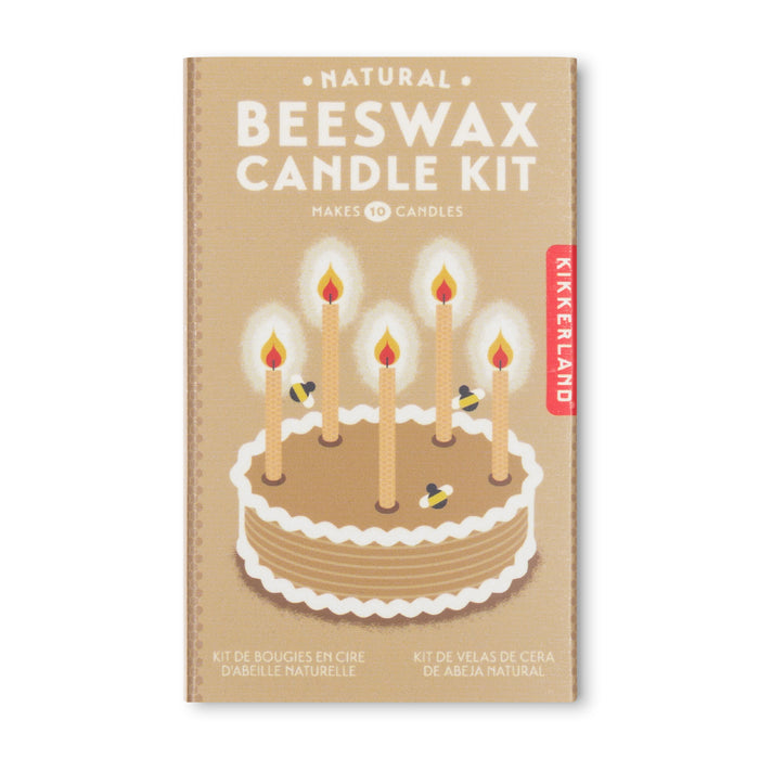 Beeswax Candle Kit - Natural