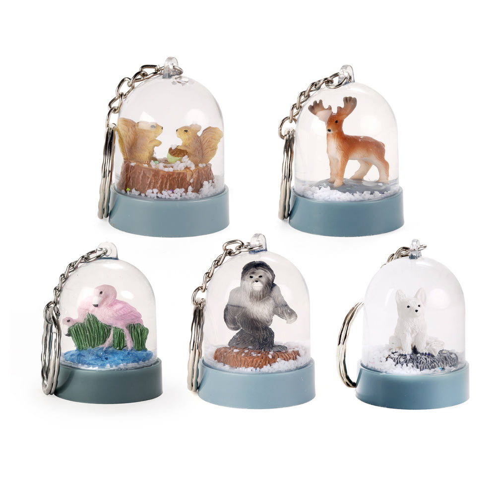 Nature Snow Globe Keychains