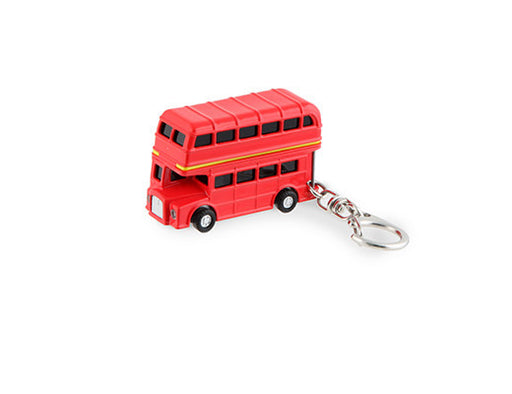 Keychain Double Decker Bus