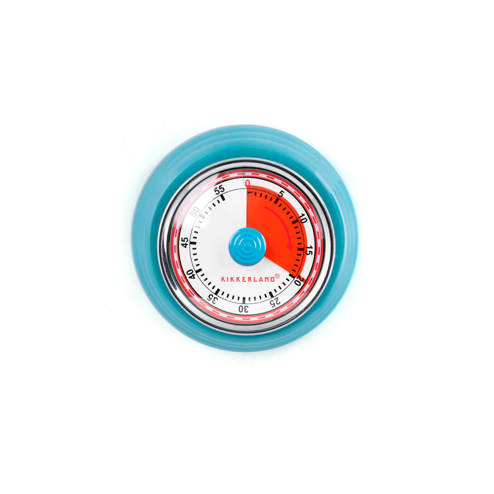 Blue Magnetic Kitchen Timer
