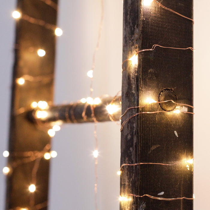 Copper String Battery Lights
