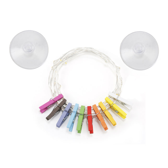 Mini Clothspin String Lights