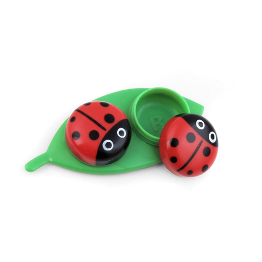 Contact Lens Case Ladybug On Leaf