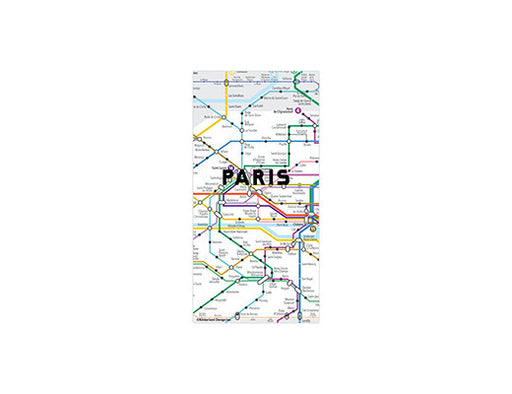 Paris Map Magnets