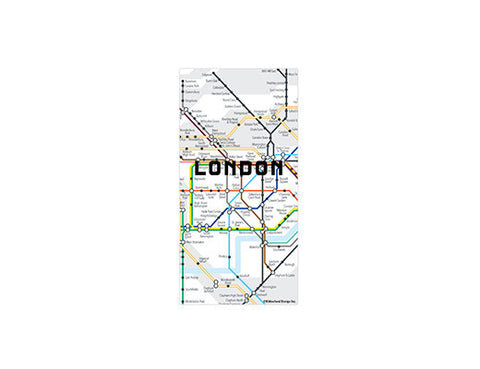London Map Magnets