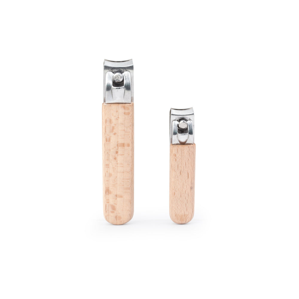 Wood Nail Clipper Set