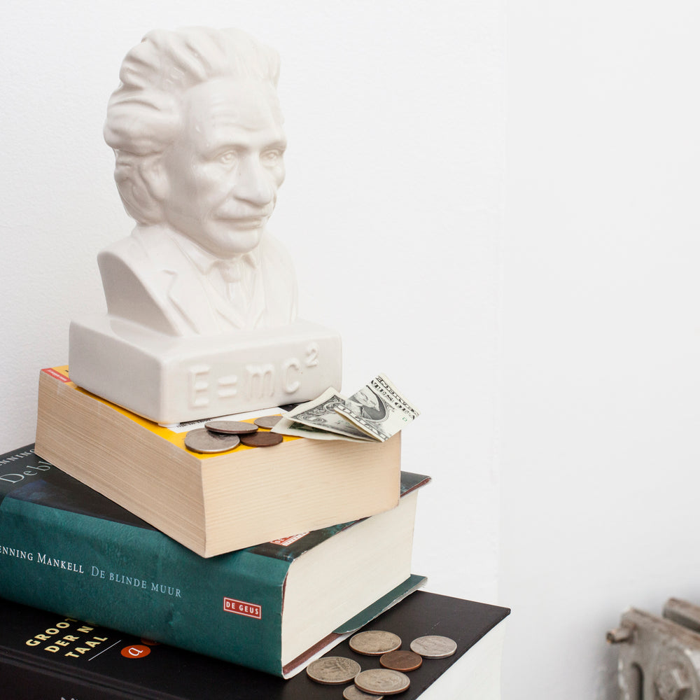Coin Bank Einstein