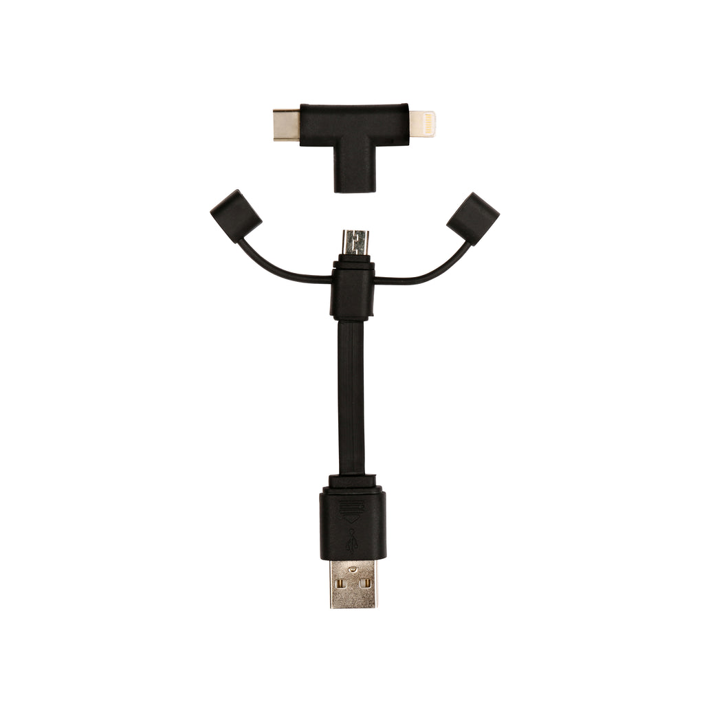 3-In-1 Cable - Black