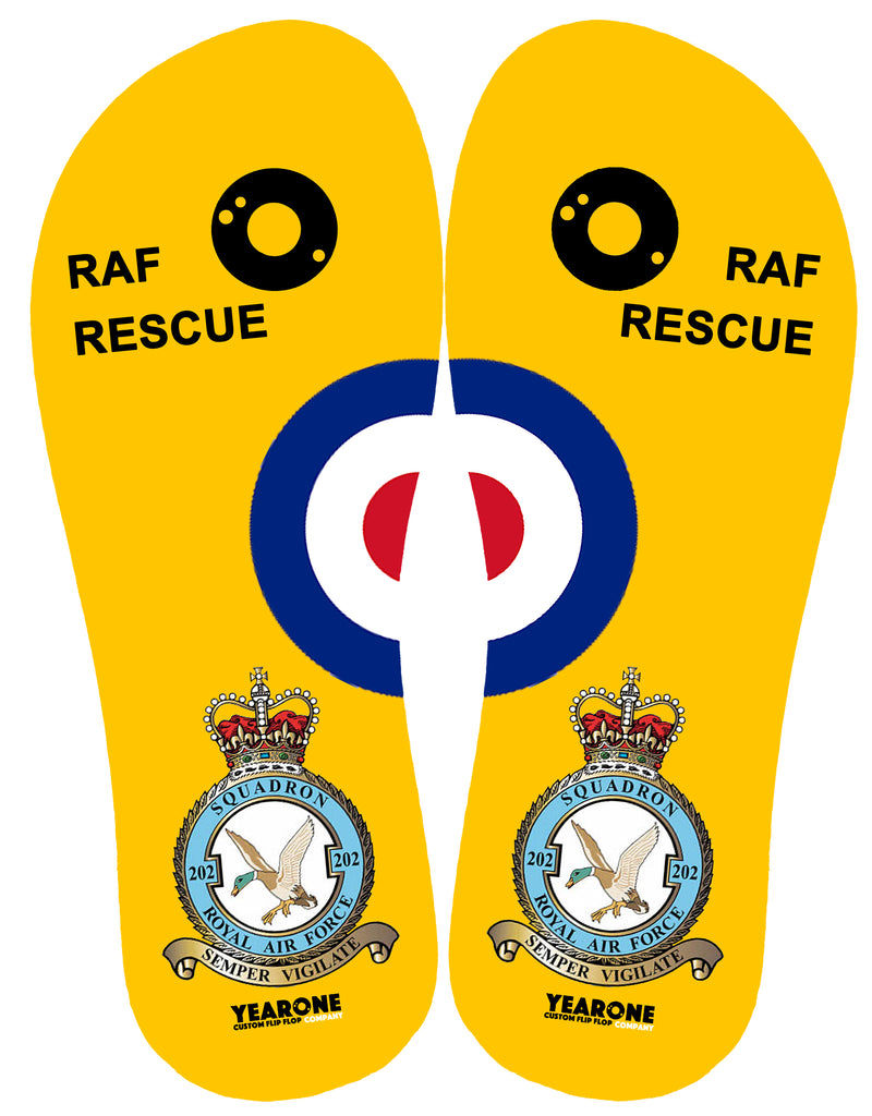 RAF Search and Rescue 202 Sqn Flip-Flop