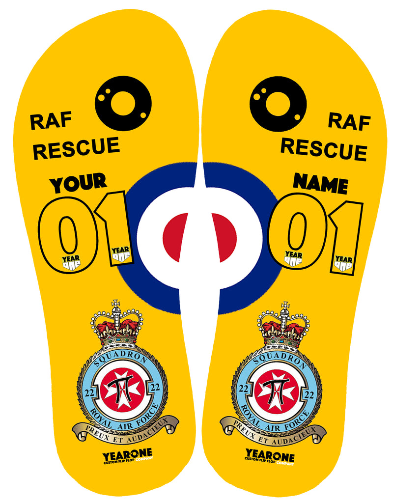 RAF Search and Rescue 22 Sqn Flip-Flop